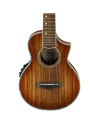 IBANEZ UEW36E LBS CONCERT UKELELE W/ PICKUP - LIGHT BROWN SUNBURST