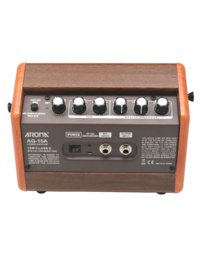 Aroma AG-15A 15W Acoustic Guitar Rechargable Amplifier