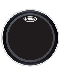 EVANS EMAD ONYX COATED BASS DRUM BATTER