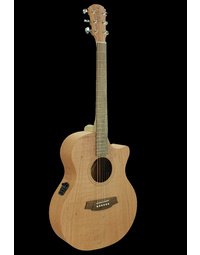 Cole Clark AN1EC Angel 1 Cutaway Acoustic Guitar Southern Silky Oak