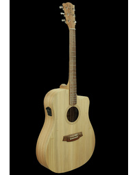 Cole Clark FL1EC Fat Lady 1 Acoustic Guitar Bunya/Maple