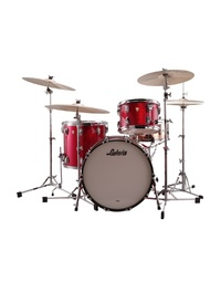 "LUDWIG CLASSIC MAPLE SHELL PACK 22"" FAB - RED SPARKLE"