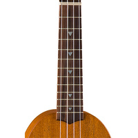 Luna Ukulele Pineapple Tattoo Soprano w/ Gig Bag