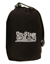 On-Stage 61 - 76 Key Dust Cover Black