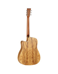 Tanglewood TW11DCEOL Winterleaf Dreadnought CE Olive Wood Guitar