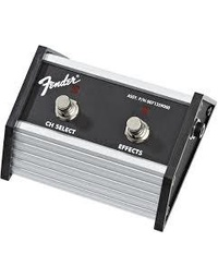 FENDER FOOTSWITCH - 2-BUTTON, CHANNEL / FX (FM65DSP, Super Champ XD, Champion 40&100)