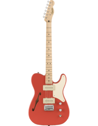 Fender Squier Paranormal Cabronita Telecaster Thinline Fiesta Red