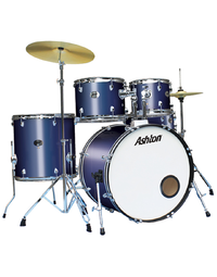 ASHTON TDR520MB DRUMKIT M/BLUE - MIDNIGHT BLUE
