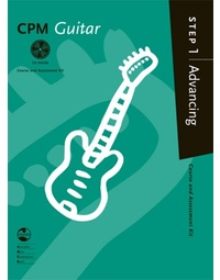 CPM GUITAR ADVANCING STEP 1 BK/CD AMEB