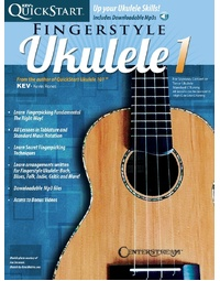 KEVS QUICKSTART FOR FINGERSTYLE UKULELE BK/CD