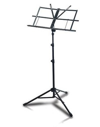 Armour MS3129 Music Stand with Bag - Black
