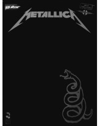 METALLICA BLACK BOOK GTR TAB