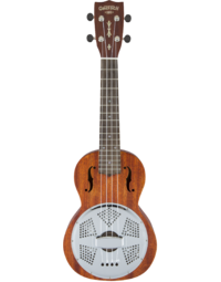GRETSCH G9112 RESONATOR-UKULELE WITH GIG BAG HONEY MAHOGANY STAIN
