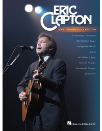 ERIC CLAPTON - EASY PIANO COLLECTION