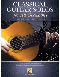 CLASSICAL GUITAR SOLOS FOR ALL OCCASIONS NOTES & TAB