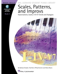 HLSPL SCALES PATTERNS AND IMPROVS BK 2 BK/OLA