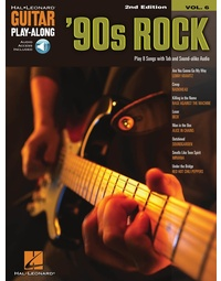 90S ROCK GUITAR PLAYALONG V6 BK/OLA 2ND EDITION