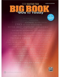 NEW GUITAR TAB BIG BOOK 90S TO TODAY