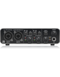 BEHRINGER U-PHORIA UMC202HD 2x2 USB AUDIO INTERFACE