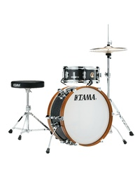 "TAMA CLUB-JAM MINI 2-PIECE COMPLETE KIT WITH 18"" BASS DRUM - CHARCOAL MIST (CCM)"