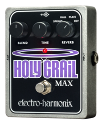 ELECTRO-HARMONIX HOLY GRAIL MAX EFFECTS PEDAL