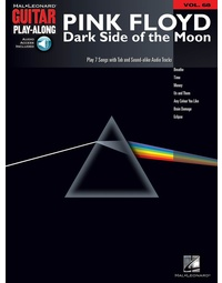 DARK SIDE OF THE MOON GUITAR PLAY ALONG V68 BK/C