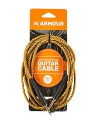 Armour GW10G Guitar 10 Foot Woven Gold Rope