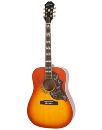 Epiphone Hummingbird Pro Acoustic/Electric Faded Cherryburst - EEHBFCNH1