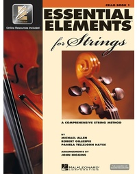 ESSENTIAL ELEMENTS FOR STGS BK1 CELLO EEI