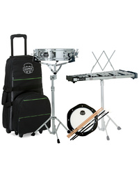 Mapex Percussion Student Combo Bell & Snare Kit w/ Practice Pad & Rolling Bag