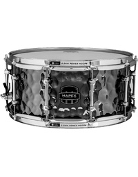 "Mapex Armory Daisycutter 14"" x 6.5"" Hammered Steel Snare Drum"