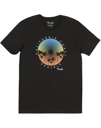 FENDER CALI COASTAL RECORD PLAYER MENS TEE (L)