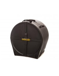 "Hardcase Standard Black 22"" Bass Drum Case"