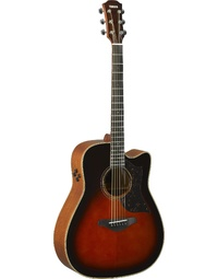 YAMAHA A3M-BS//ARE BROWN SUNBURST ACOUSTIC GUITAR