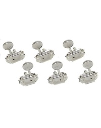 GOTOH 3 A SIDE NICKEL KLUSON MACHINE HEADS