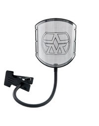 Aston Shield GN Solid Stainless Steel Pop Filter with Goose Neck