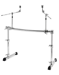 Gibraltar Chrome Series Height Adjustable Curved Universal Rack