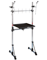 Gibraltar Percussion Workstation on Gibraltar Rack with Mounts
