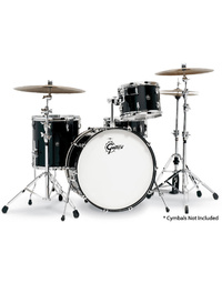 Gretsch RN2 Renown Series Rock 4-Pce Drum Kit in Piano Black