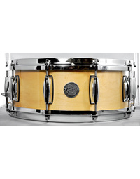 Gretsch Silver Series Snare Drum in Natural Maple Finish - 14 x 5""