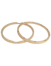 "Gibraltar 14""/10 Lug Snare Batter Side Wood Hoop"