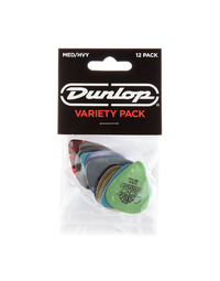 DUNLOP MED/HEAVY PICK VARIETY PLAY PACK