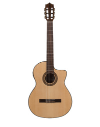 KATOH MCG20CEQ CLASSICAL CUTAWAY GUITAR WITH PICKUP