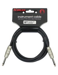 "Kirlin 10ft 1/4"" Straight Guitar Cable"