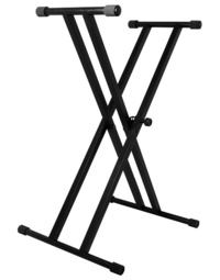XTREME DOUBLE BRACED KEYBOARD STAND (LEVER RELEASE)