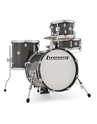 LUDWIG BREAKBEATS QUESTLOVE SHELL PACK - BLACK GOLD SPARKLE
