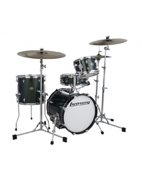 Ludwig Breakbeats Questlove Shell Pack - Forest Green Sparkle