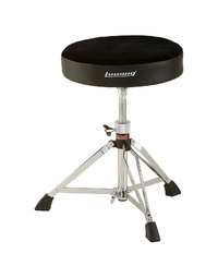 Ludwig Round Throne - Standard - Double Brace - Fabric Top