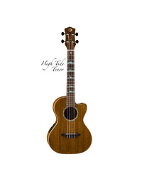 Luna Ukulele Hightide Tenor Ovankol w/ Preamp & Gig Bag