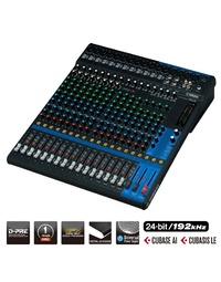 YAMAHA MG20XU D-PRE MIXER WITH EFFECTS AND USB